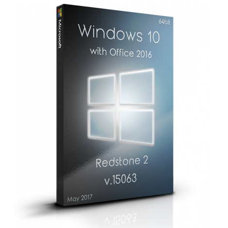 Download Microsoft Windows 10 Pro RS2 with Office 2016 Free