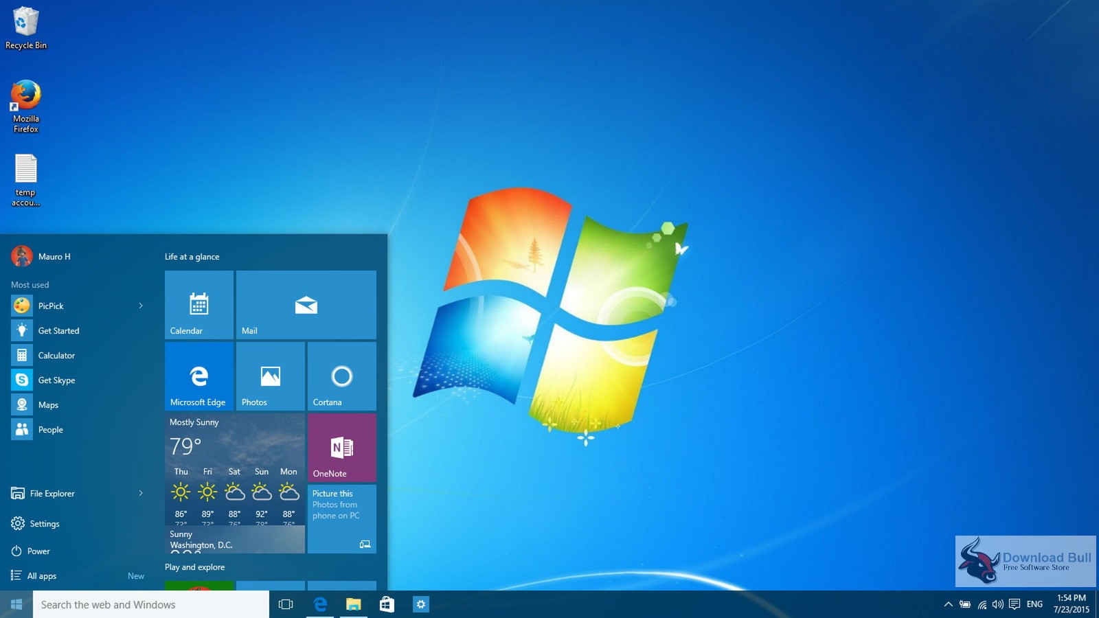 Microsoft Windows 7 Ultimate SP1 May 2018 Free Download