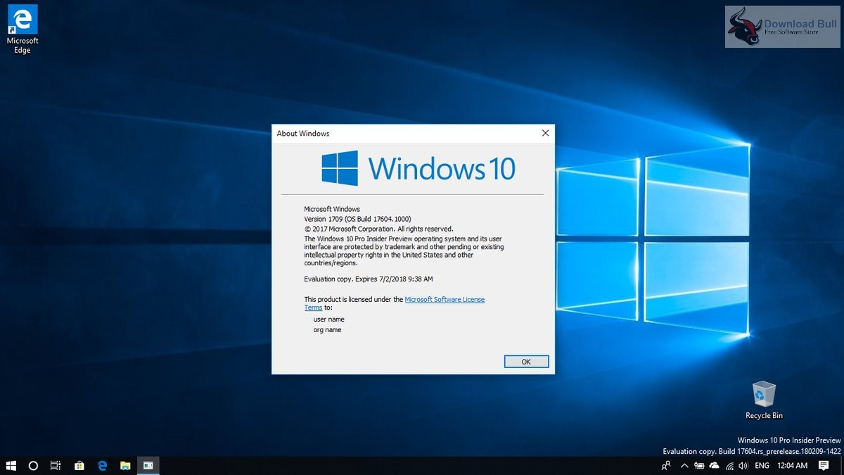 windows 10 redstone 5 download free