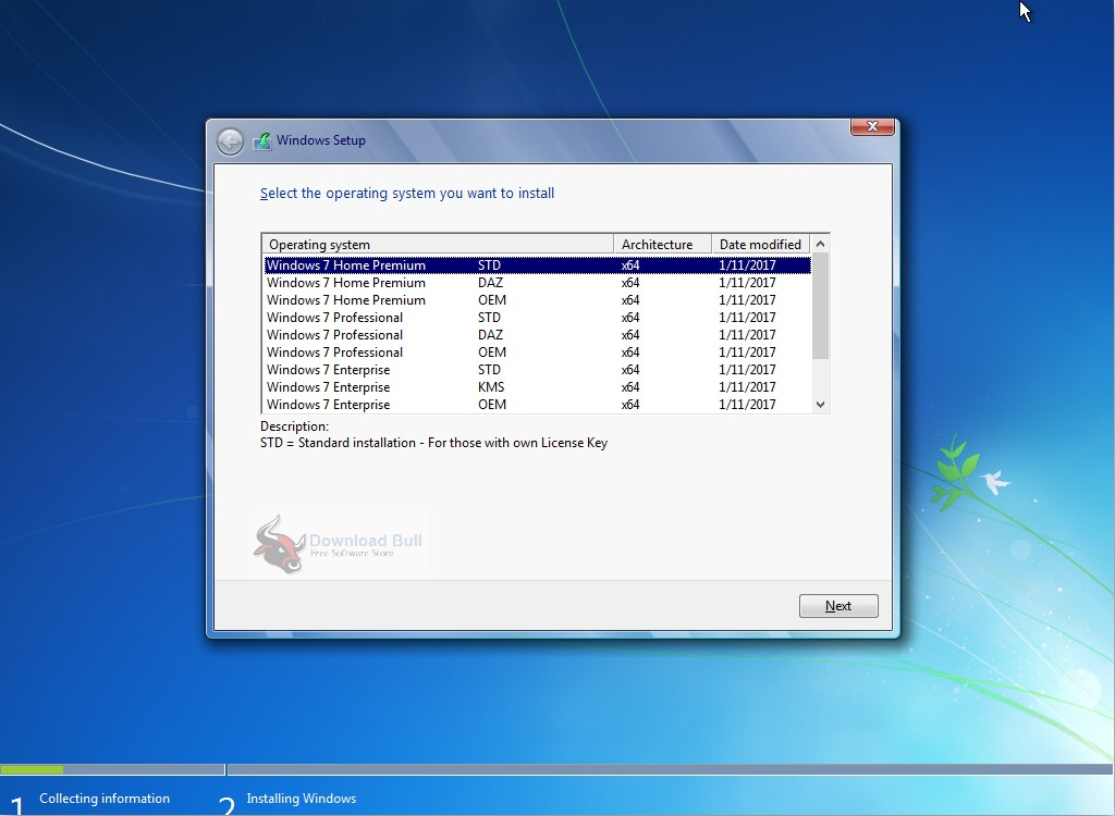 free download windows 7 professional os