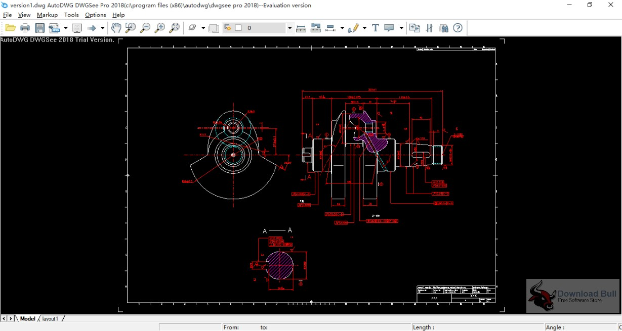 Portable AutoDWG DWGSee Pro 2018 Free Download