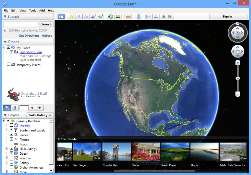 google earth update 2018 free download