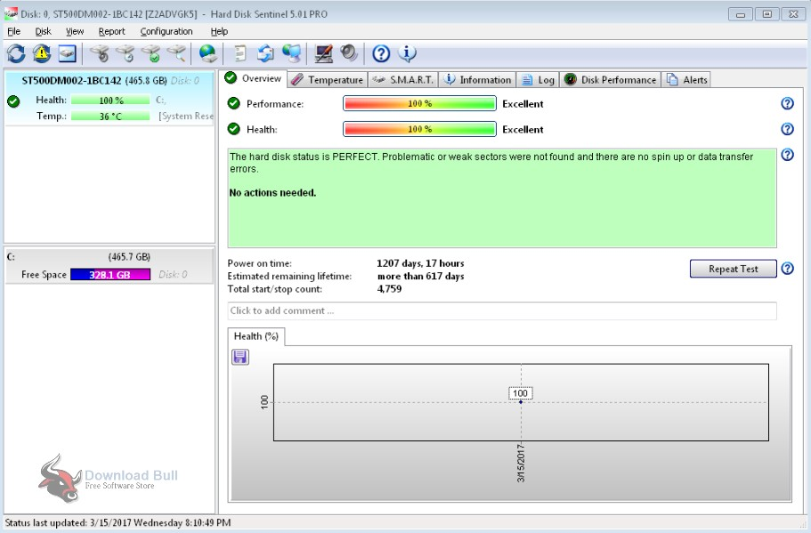 Portable Hard Disk Sentinel Pro 5.30 Free Download