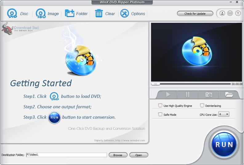 Portable WinX DVD Ripper Platinum 8.8 Free Download