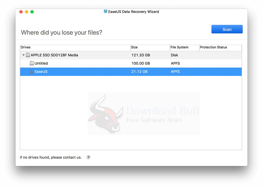 EaseUS Data Recovery Wizard 11.8 for Mac Download