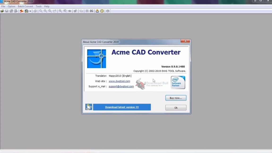 Portable Acme CAD Converter 2019 Free Download
