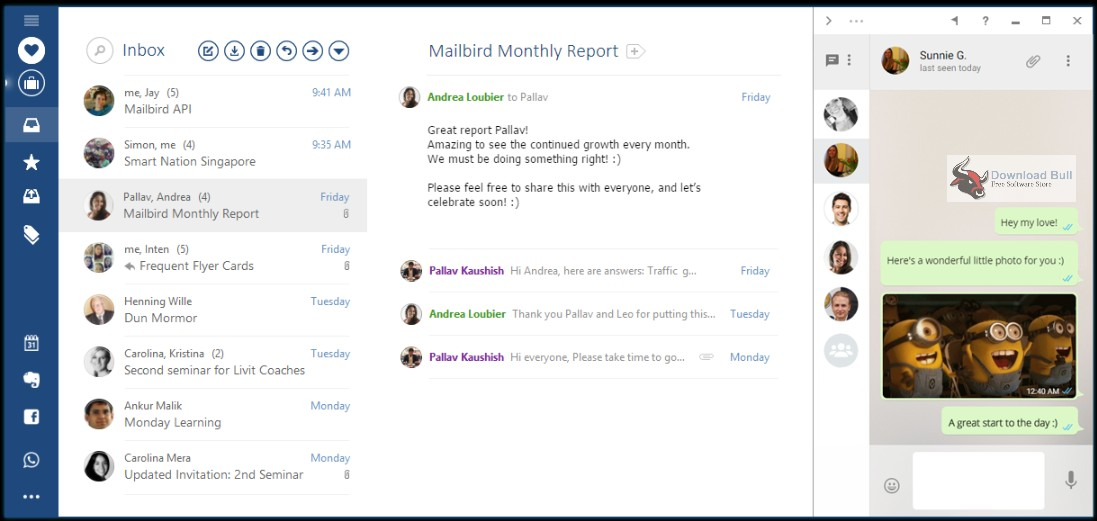 Portable Mailbird Pro 2.3 Free Download