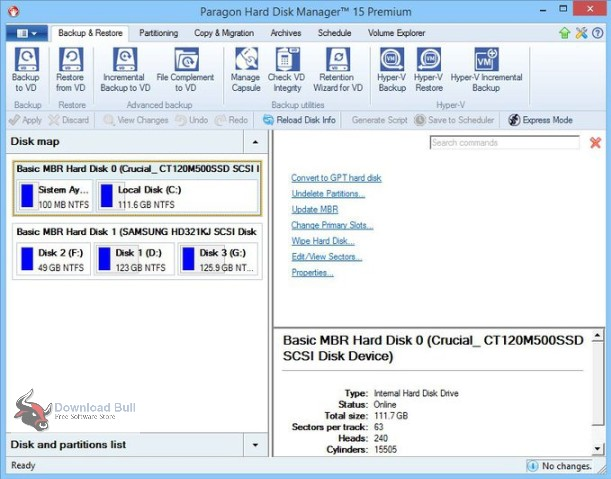 Portable Paragon Hard Disk Manager Advanced 16.2 Free Download