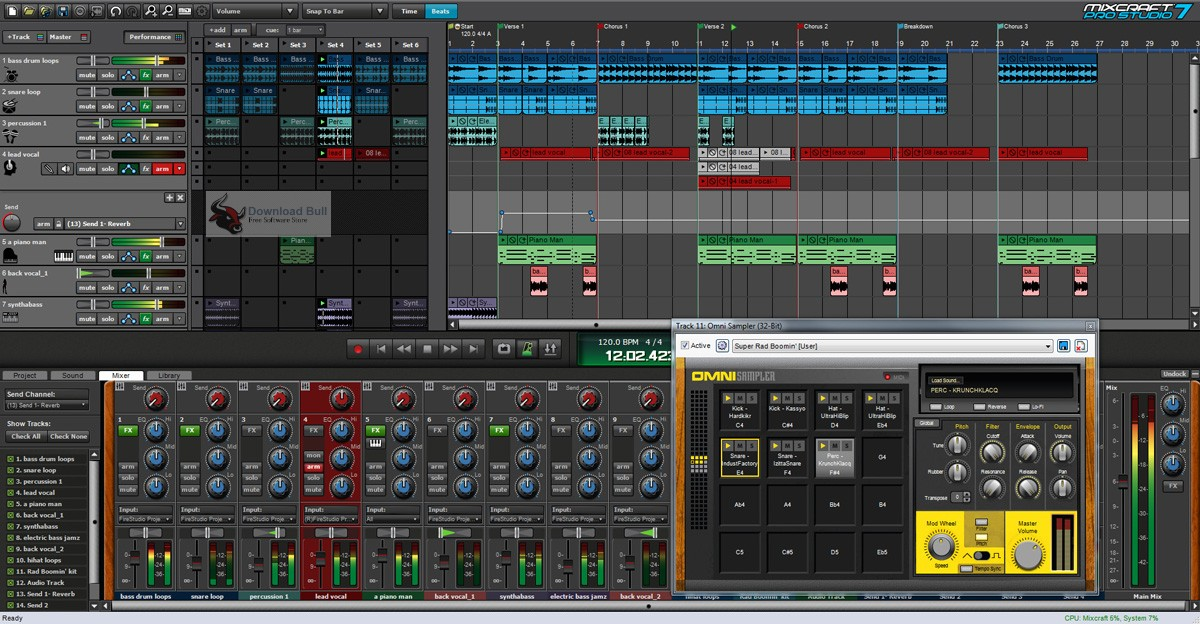Portable Acoustica Mixcraft Pro Studio 8.1 Free Download