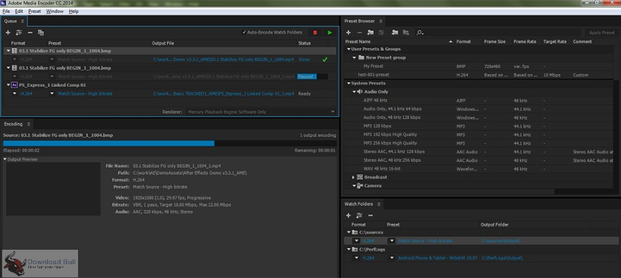 Portable Adobe Media Encoder CC 2019 13.0