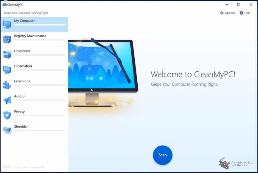 Portable CleanMyPC 1.9 Free Download