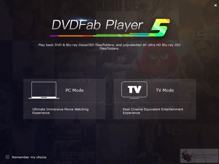 Portable DVDFab Player Ultra 5.0 Free Download