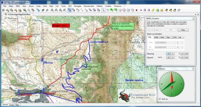 Portable OkMap Desktop 14.0