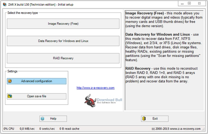 zero assumption data recovery software free download