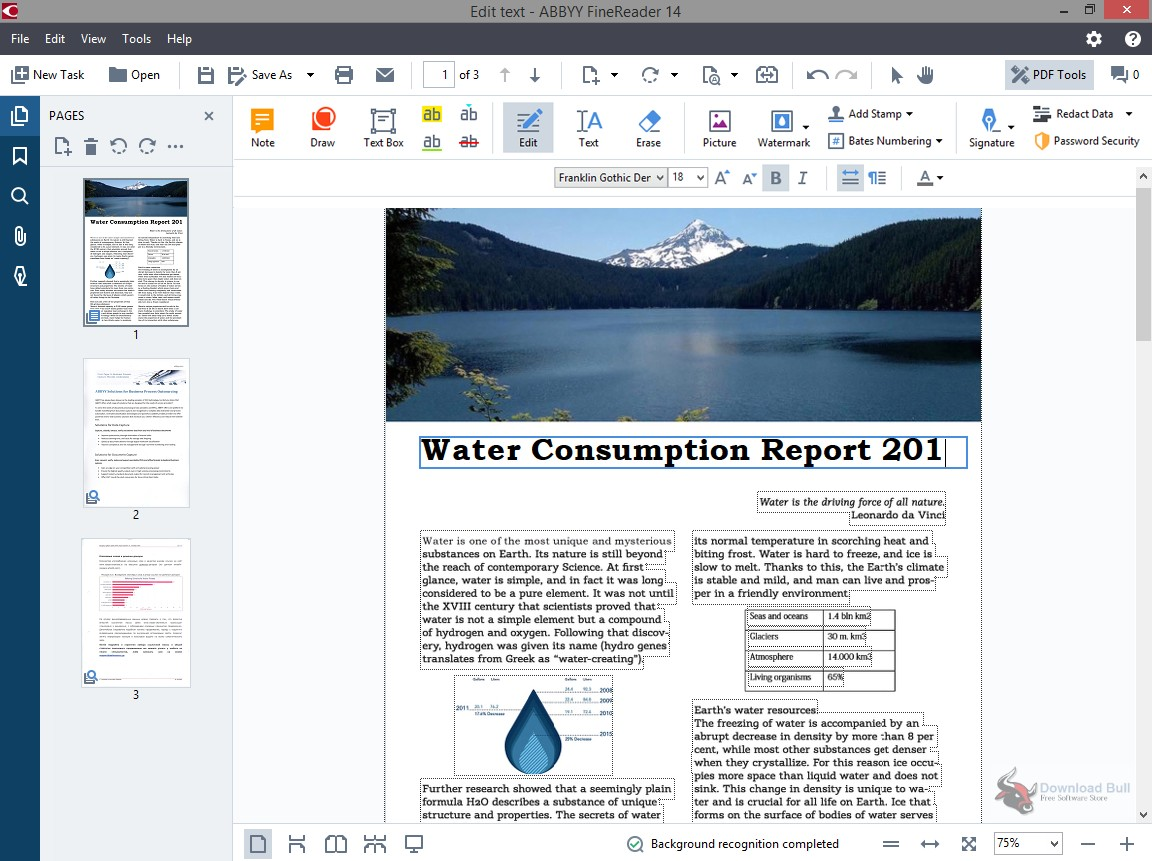 Portable ABBYY FineReader 14.0 Free Download