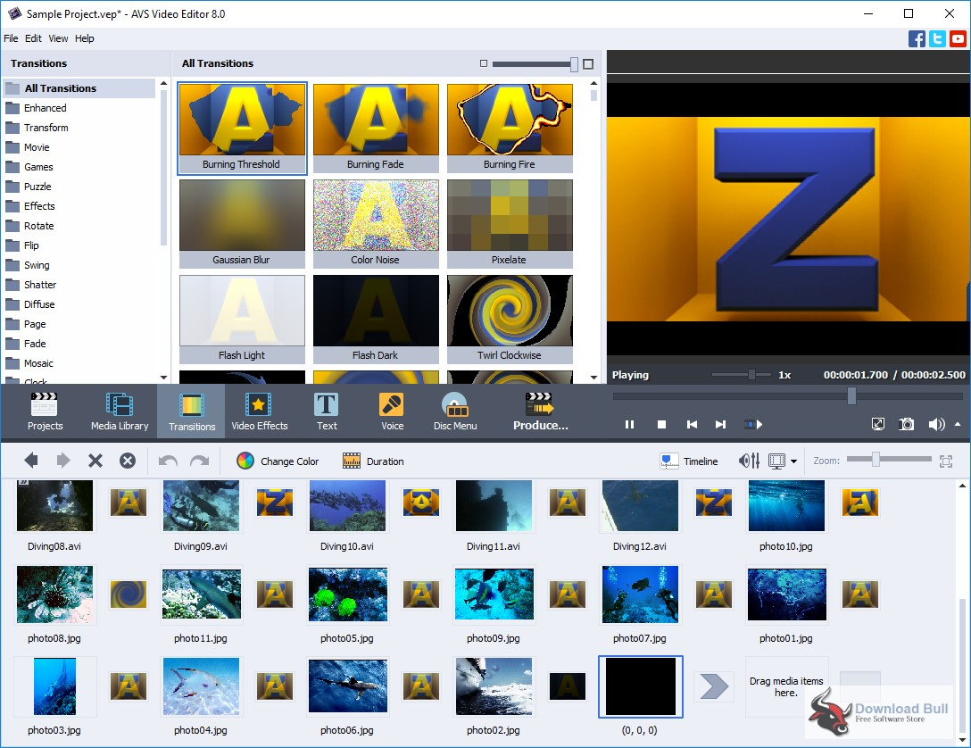 Portable AVS Video Editor 9.0 Free Download