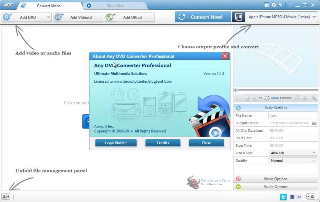Portable Any DVD Converter Professional 6.2