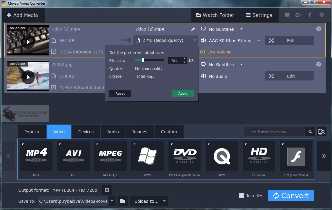Portable Movavi Video Converter Premium 19.0