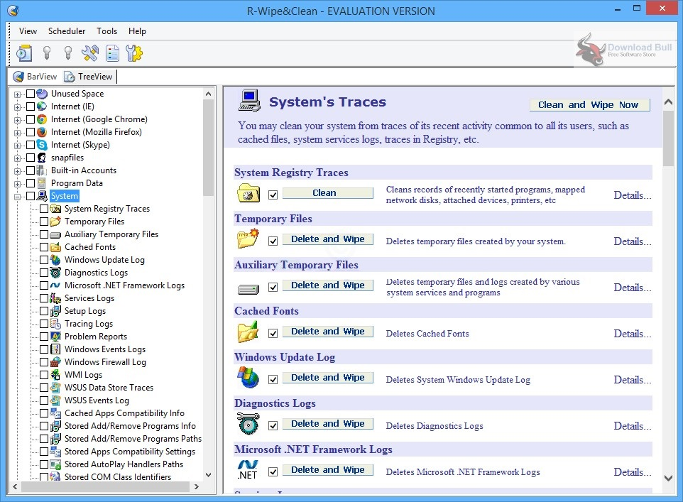 Portable R-Wipe & Clean 20.0 Free Download