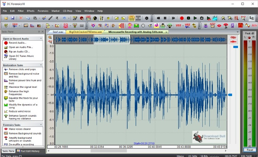 Portable Diamond Cut Audio Restoration Tools 10.5 Free Download