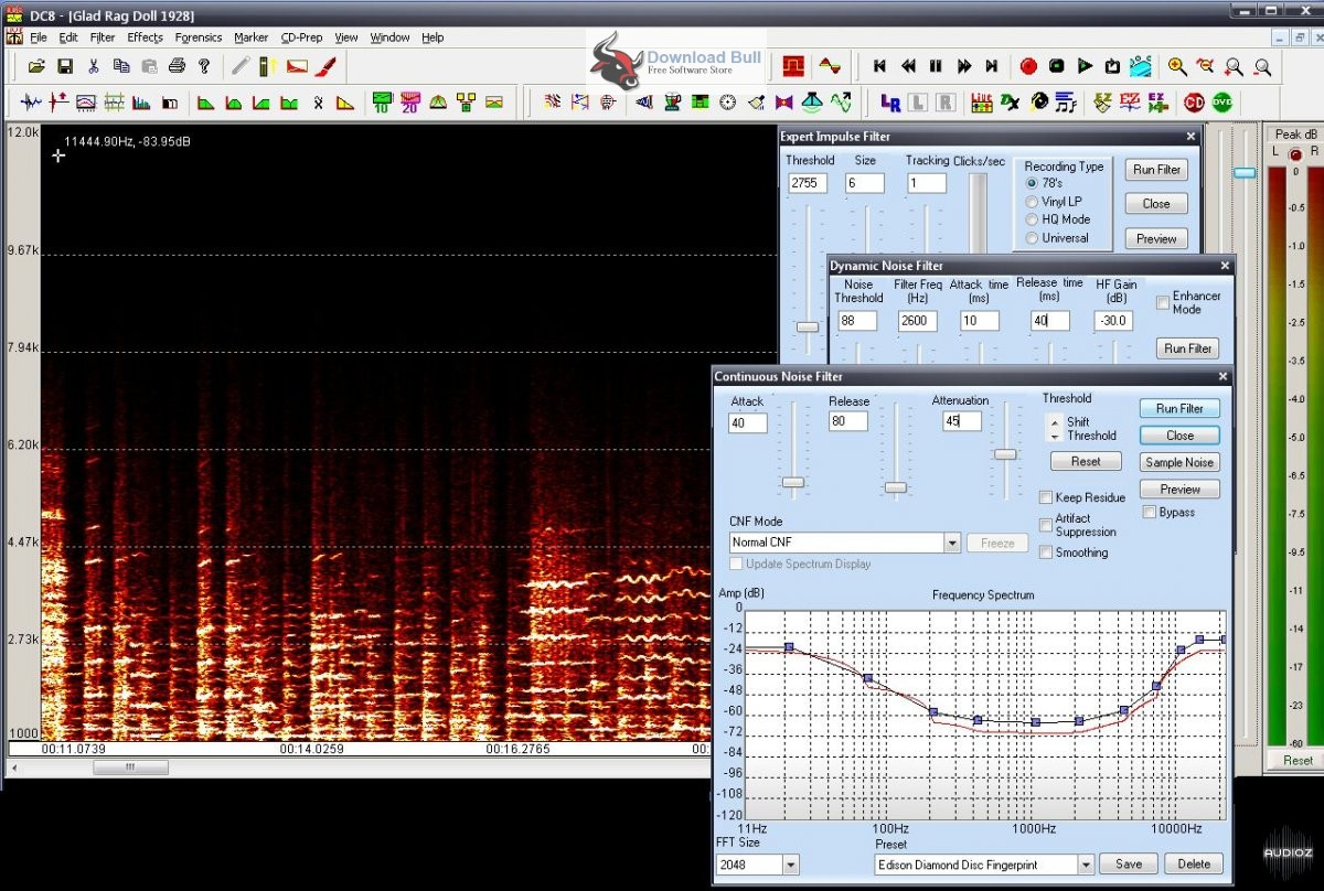 Portable Diamond Cut Audio Restoration Tools 10.5