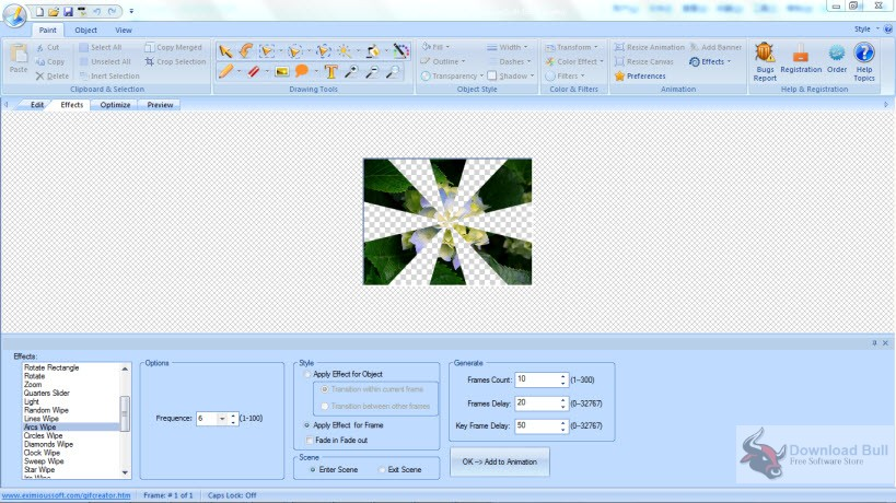 Portable EximiousSoft GIF Creator 7.3 Free Download