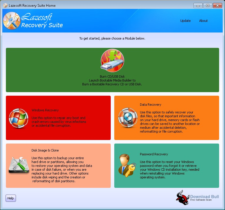 Portable Lazesoft Recovery Suite Unlimited 4.3 Free Download
