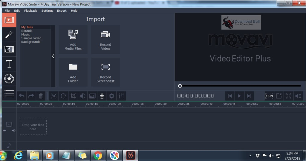 Portable Movavi Video Suite 18.1 Free Download