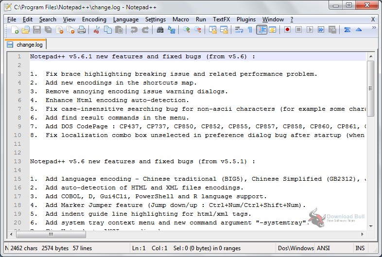 Portable Notepad++ 7.6 Free Download