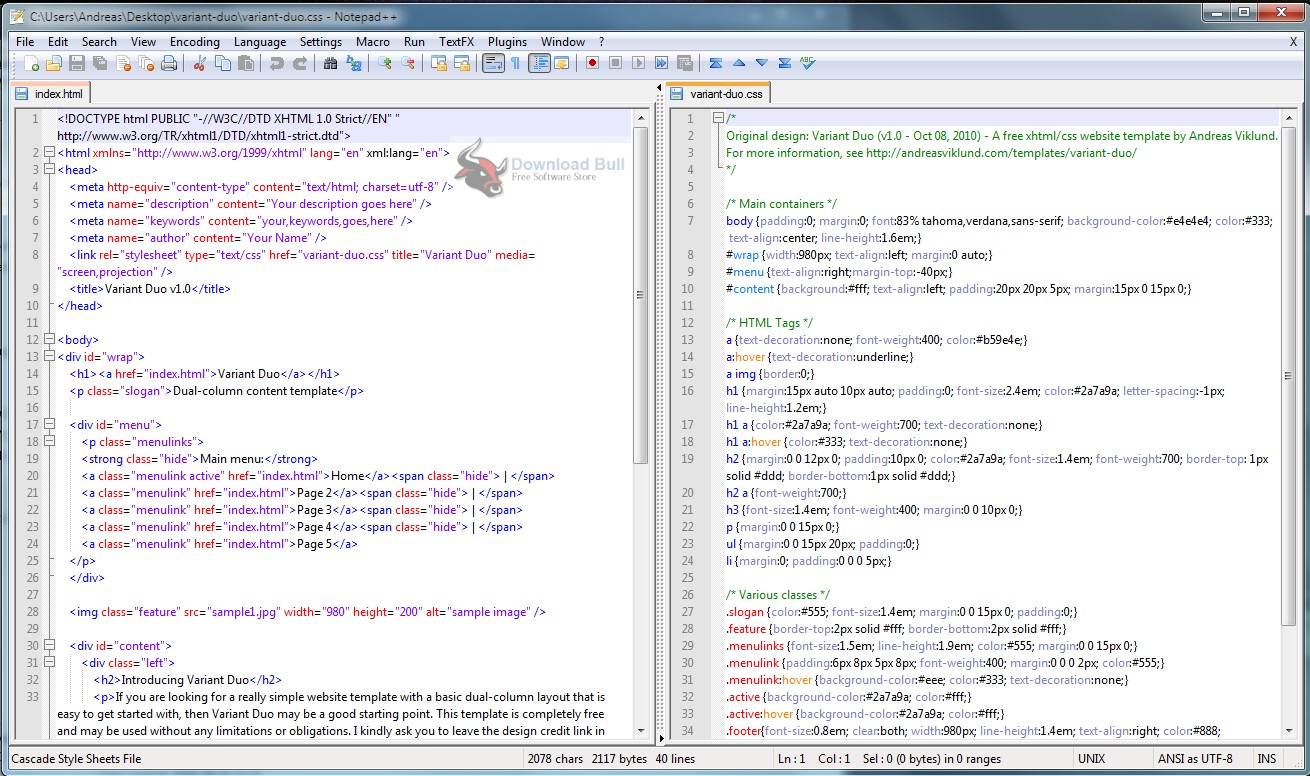 Portable Notepad++ 7.6