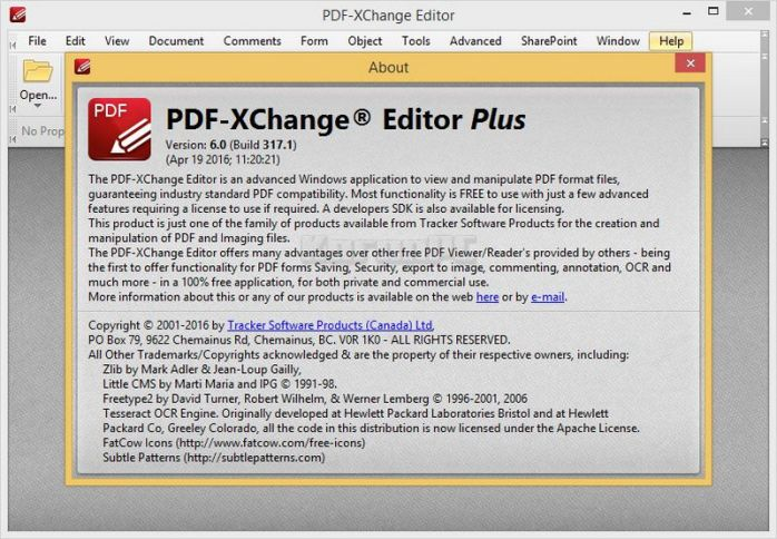 Portable PDF-XChange Editor Plus 7.0 Free Download