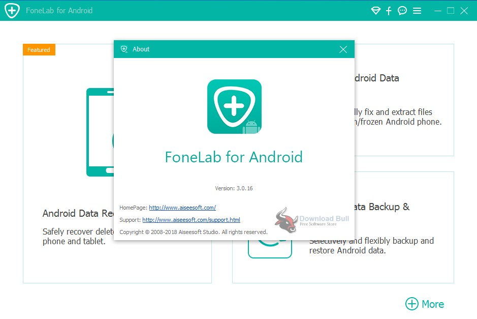 Portable Aiseesoft FoneLab for Android 3.0 Free Download