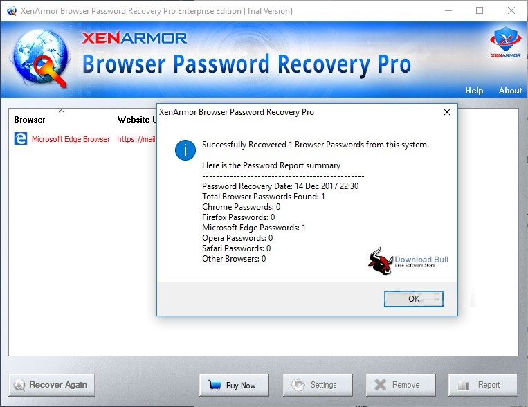 Portable Browser Password Recovery Pro Enterprise Edition 3.5 Free Download