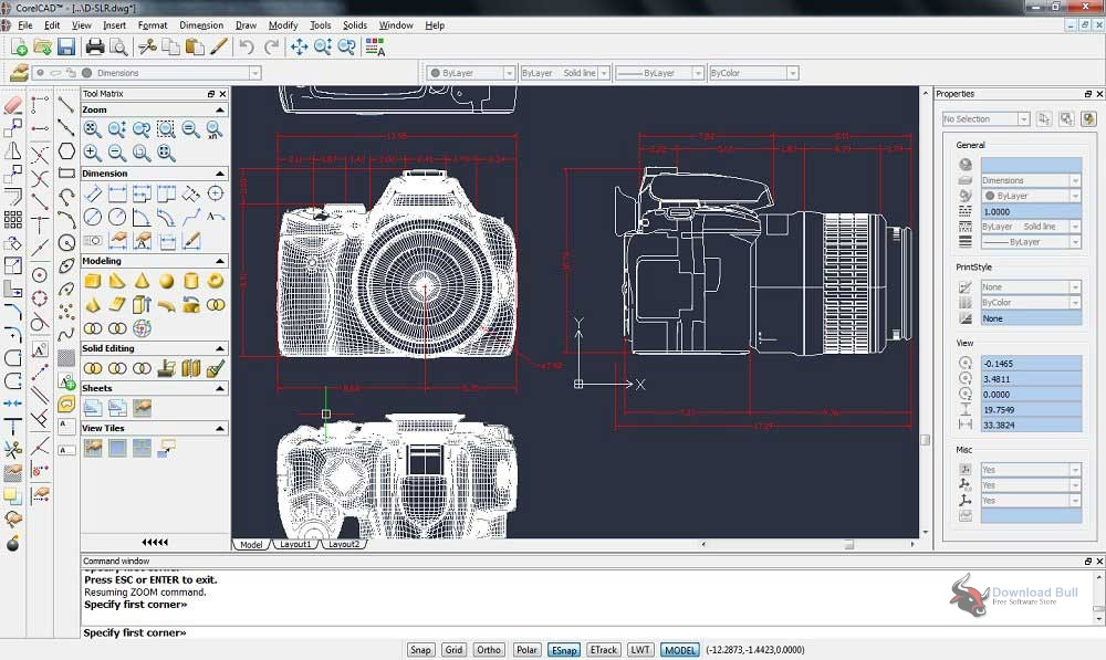 Portable CorelCAD 2019 Free Download