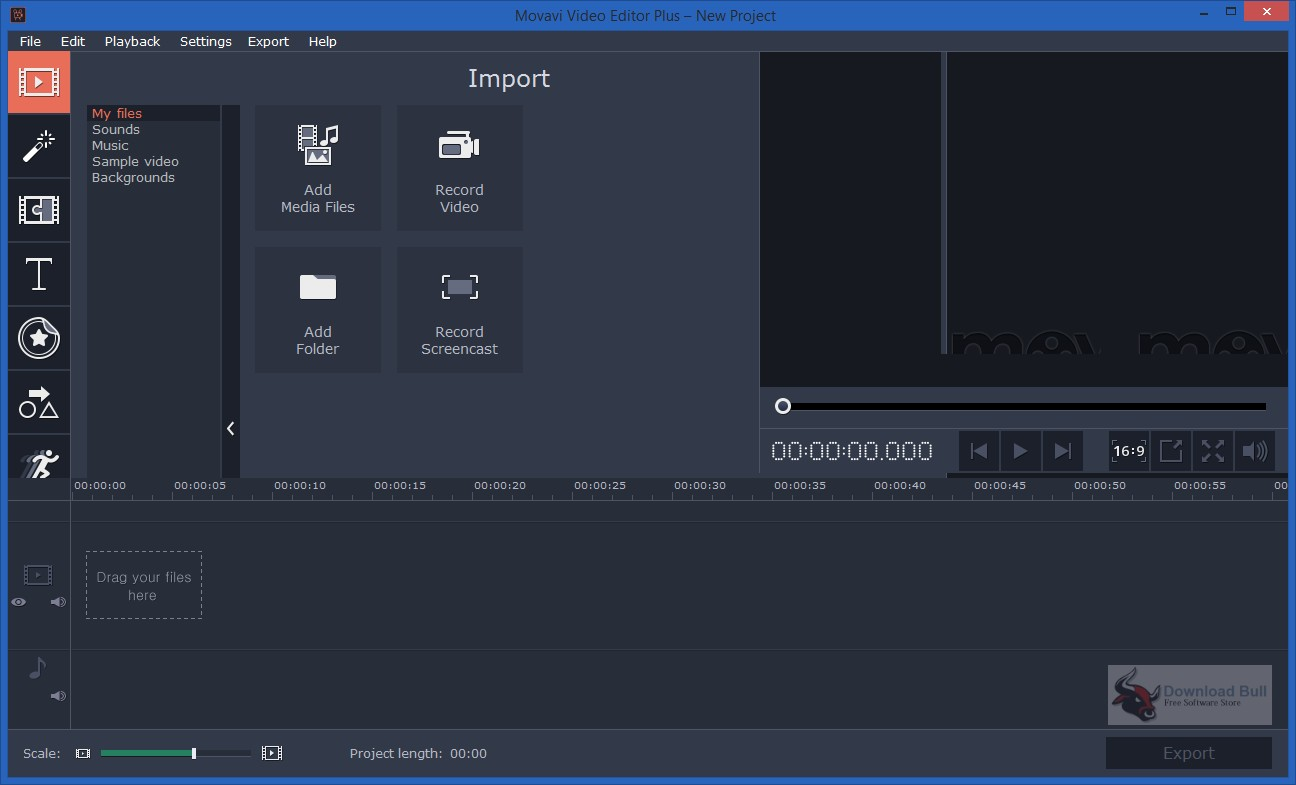 Portable Movavi Video Editor Plus 15.2 Free Download