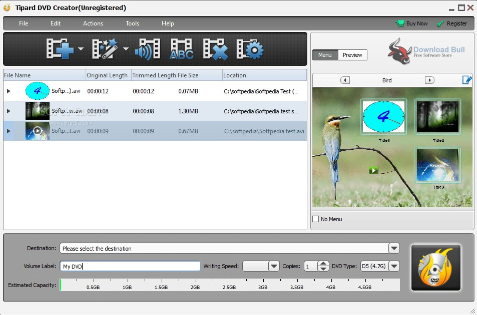 Portable Tipard DVD Creator 5.2 Free Download