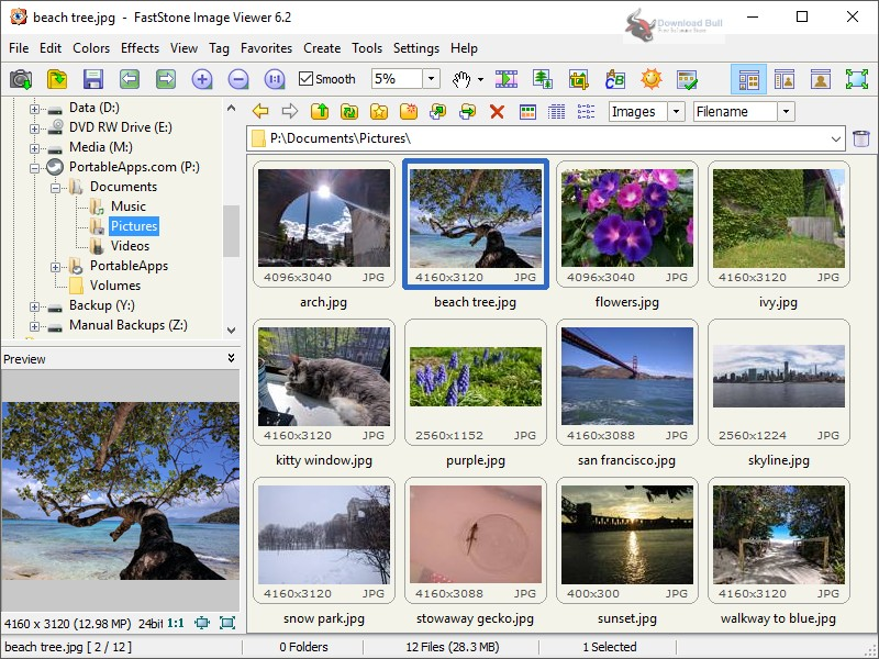 Portable FastStone Image Viewer 7.0