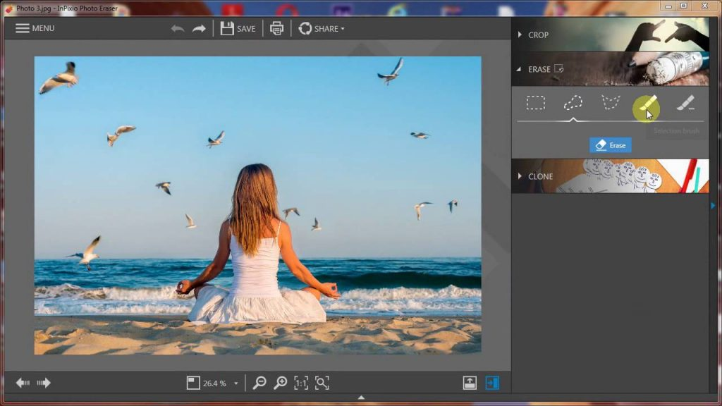 Portable InPixio Photo Eraser 9.0 Free Download