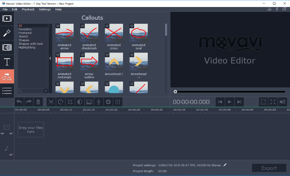 Portable Movavi Video Editor Business 15.2