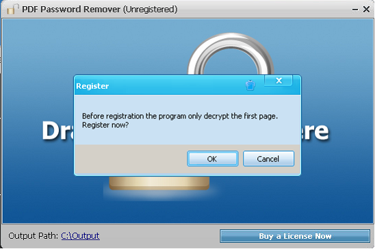 Portable PDF Password Remover 7.5 Free Download