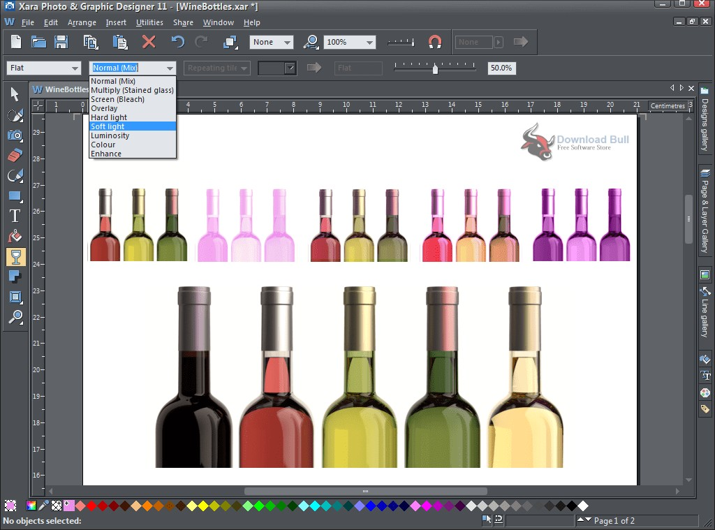 Portable Xara Photo & Graphic Designer 16.1