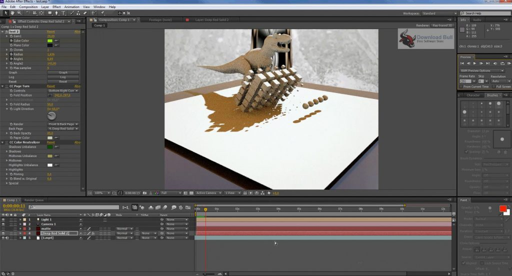 Portable Adobe After Effects CC 2019 v16.0 Free Download