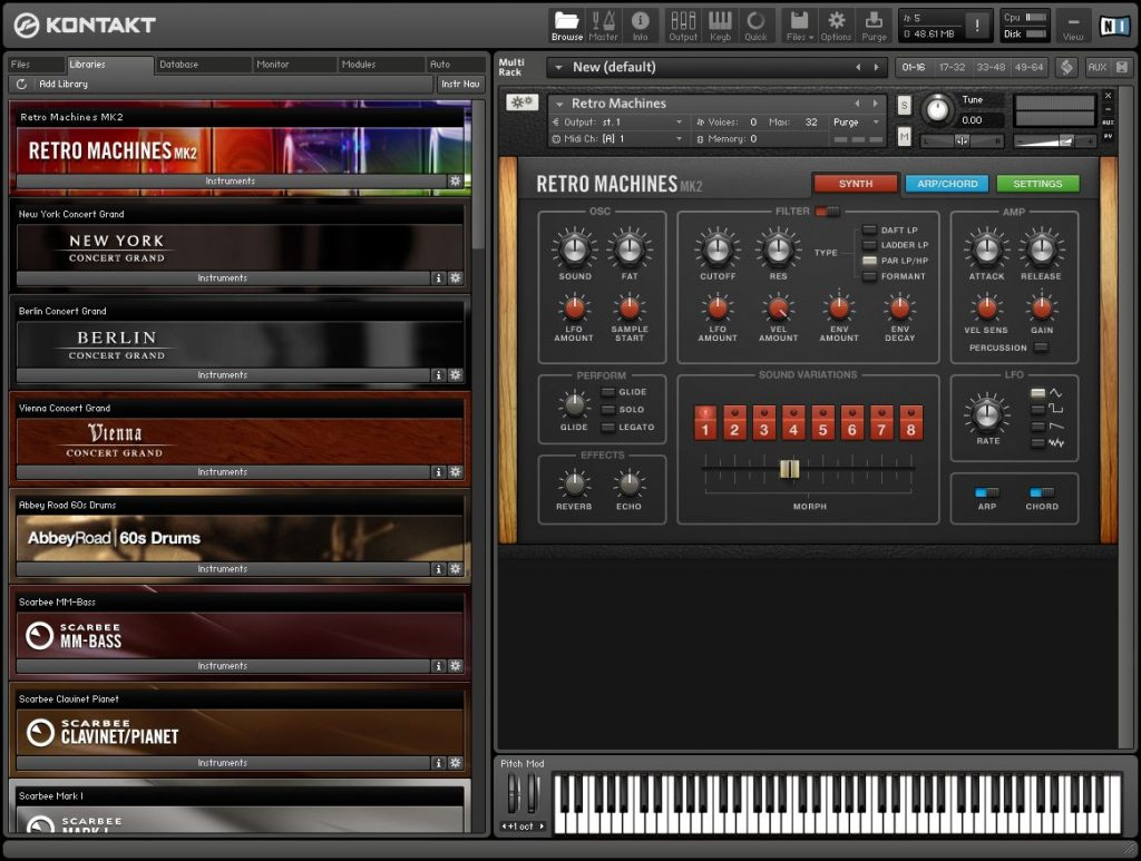 Portable Native Instruments Kontakt 6.0 Standalone VSTi