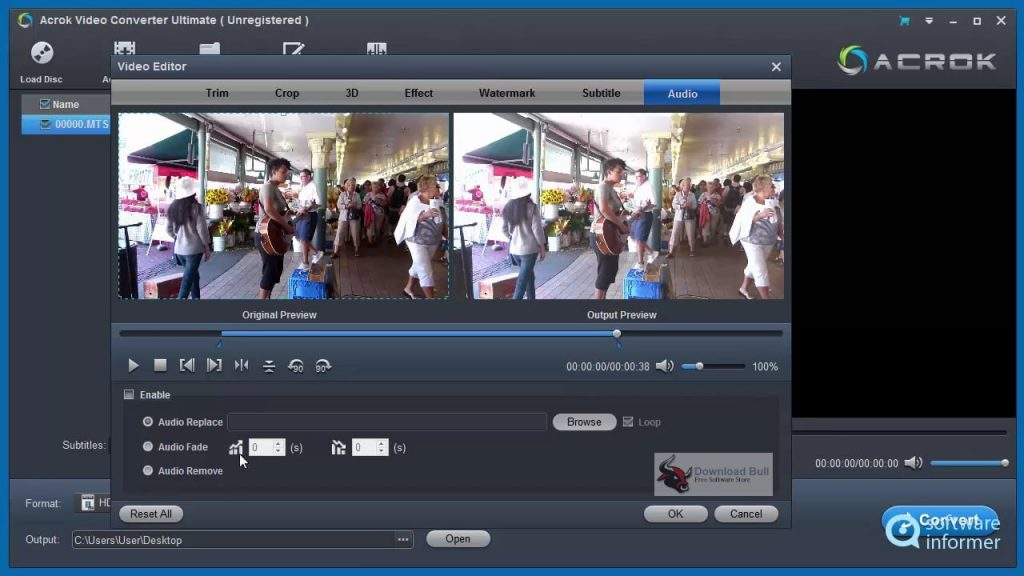 Portable Acrok Video Converter Ultimate 6.5 Free Download