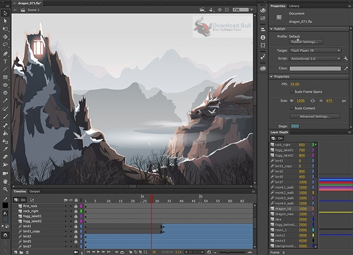 Portable Adobe Animate CC 2019 19.2