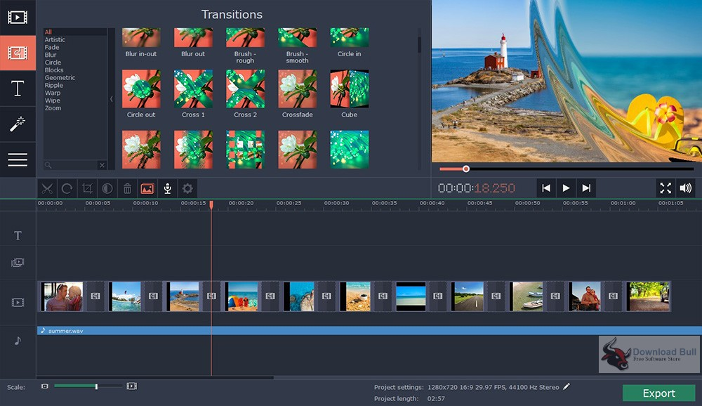 Portable Movavi Slideshow Maker 5.3 Free Download
