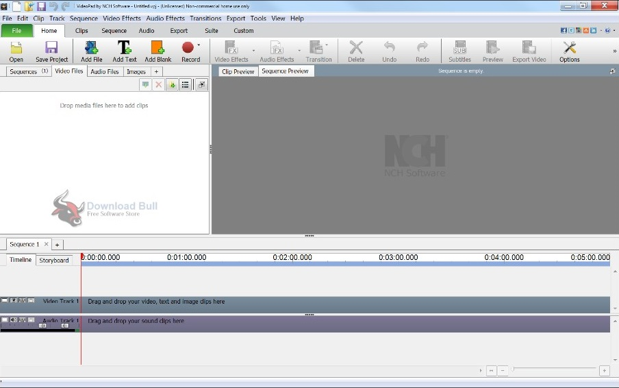 Portable NCH VideoPad Video Editor 7.1 Free Download (1)