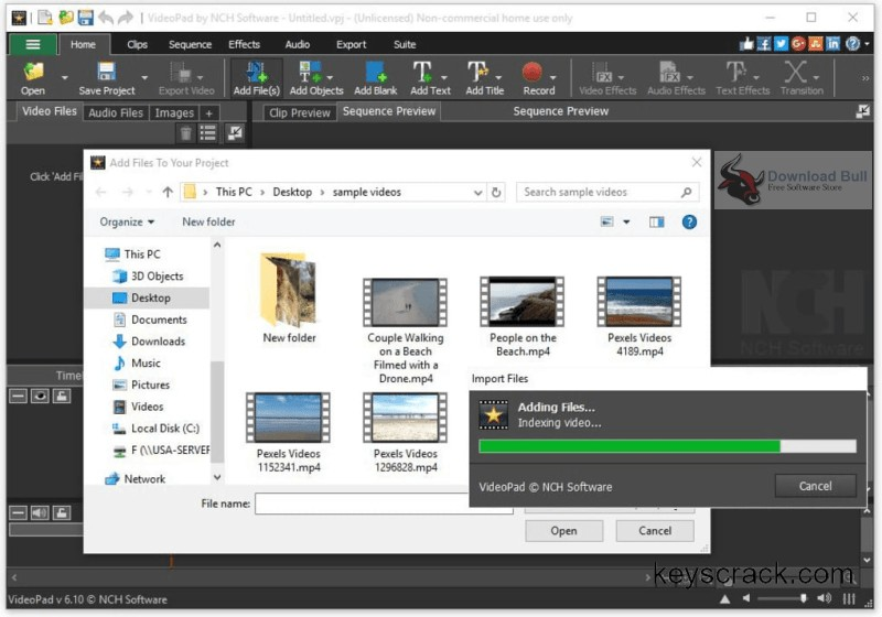 Portable NCH VideoPad Video Editor 7.1 Free Download