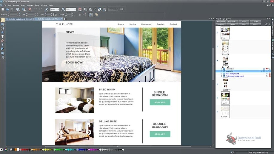 Portable Xara Web Designer Premium 16.1 Free Download