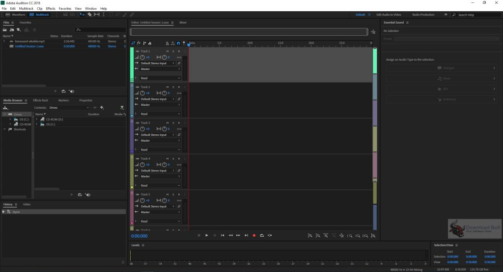 Portable Adobe Audition CC 2019 v12.1 Free Download